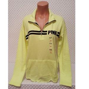 Victoria's Secret PINK Half Zip Pullover